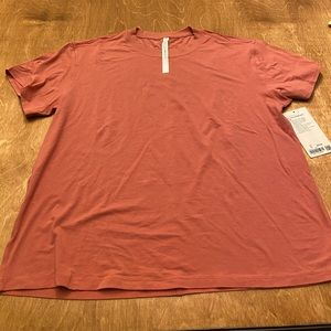 All yours lululemon boyfriend tee with tags